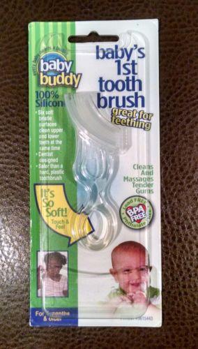 Baby Buddy Baby's 1st Toothbrush BPA Free Teething