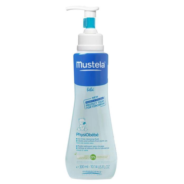 Mustela PhysiObebe No Rinse Cleaning Fluid - 10.14 Ounce