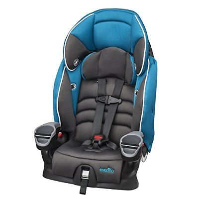 Evenflo Maestro Booster Car Seat Thunder to 80lbs Safety Seats Baby