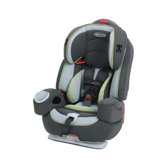 Graco Nautilus 80 Elite 3-in-1 Harness Booster Car Seat,  Go Green