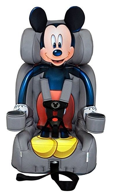 Disney KidsEmbrace Combination Toddler Harness Booster Car Seat, Mickey Mouse