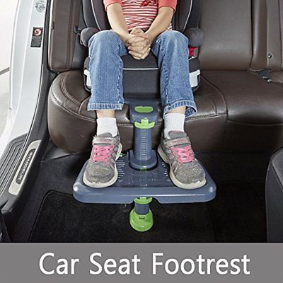 KneeGuardKids3 Car Accessories Seat Footrest, Booster (Grey)