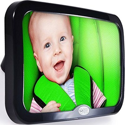 Safe Baby Rear Facing Mirrors Tech Car Mirror, Crystal Clear Reflection