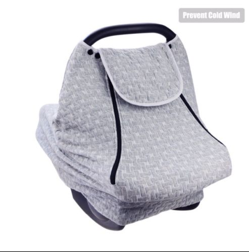 USA Stretchy Bay Car Seat Cover For Girls And Boys Winter Canopy