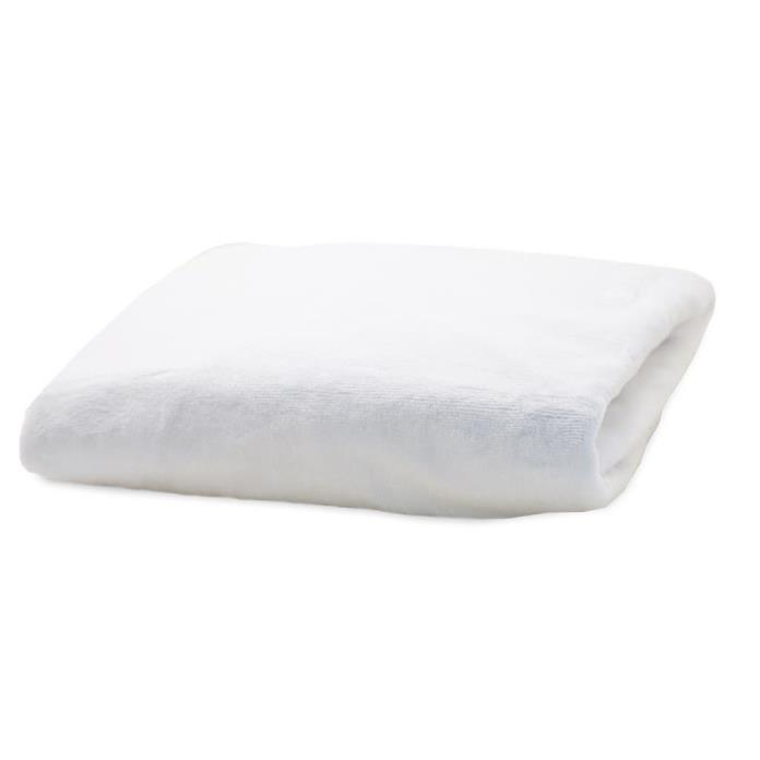 Rumble Tuff Silky Minky Changing Pad Cover, White ,Standard