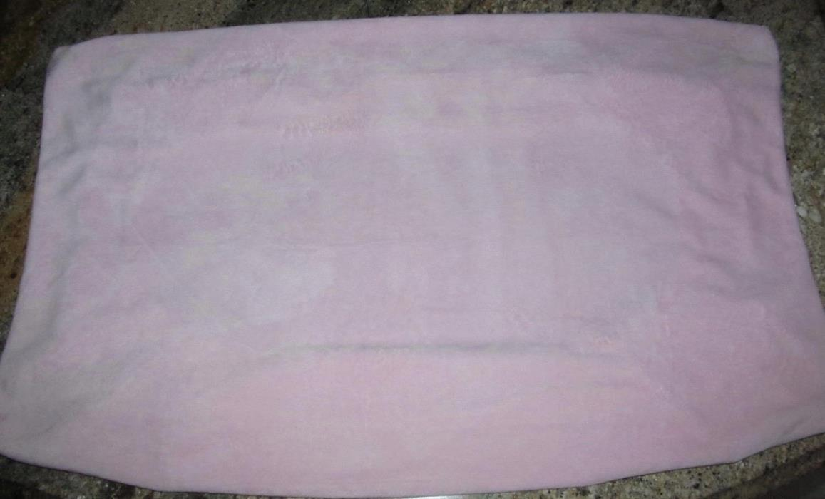 Pottery Barn Kids Pink Chamois Changing Pad Cover Excellent Condition