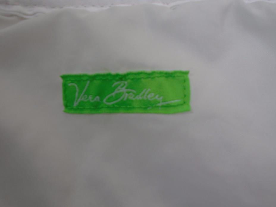 2 Vera Bradley Baby Diaper Changing Pads White Protective Liner Cloth 21 x 13