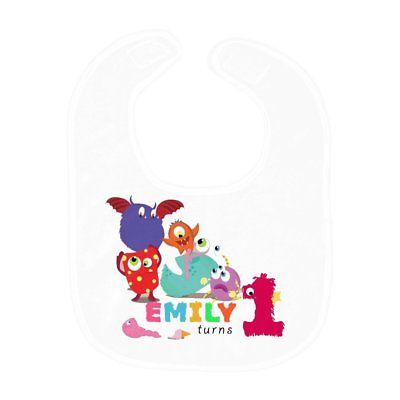 Featured Monster Personalized Bib