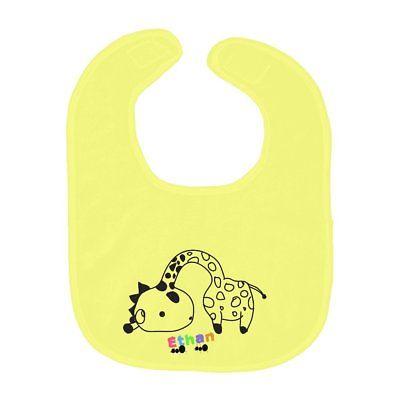 Featured Giraffe personalized bib