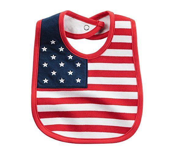 Carter's Baby American Flag Bib