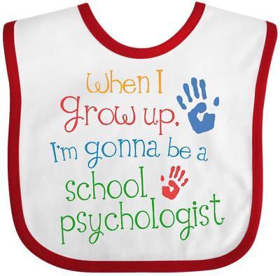 Inktastic School Psychologist Future Baby Bib Cute Handprints Handprint Job Kids
