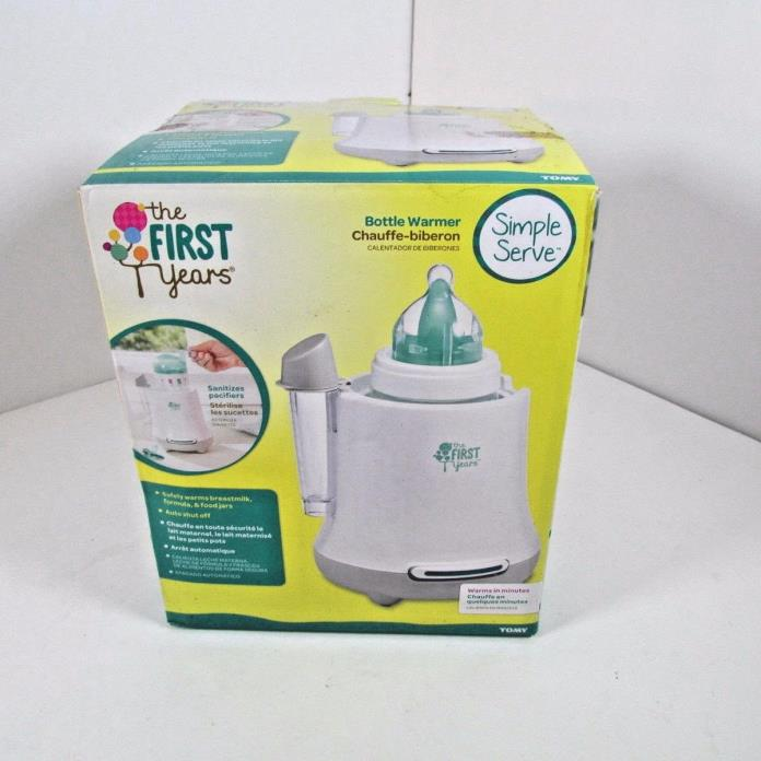 The First Years Quick Simple Serve Baby Bottle Warmer with Auto Shut Off