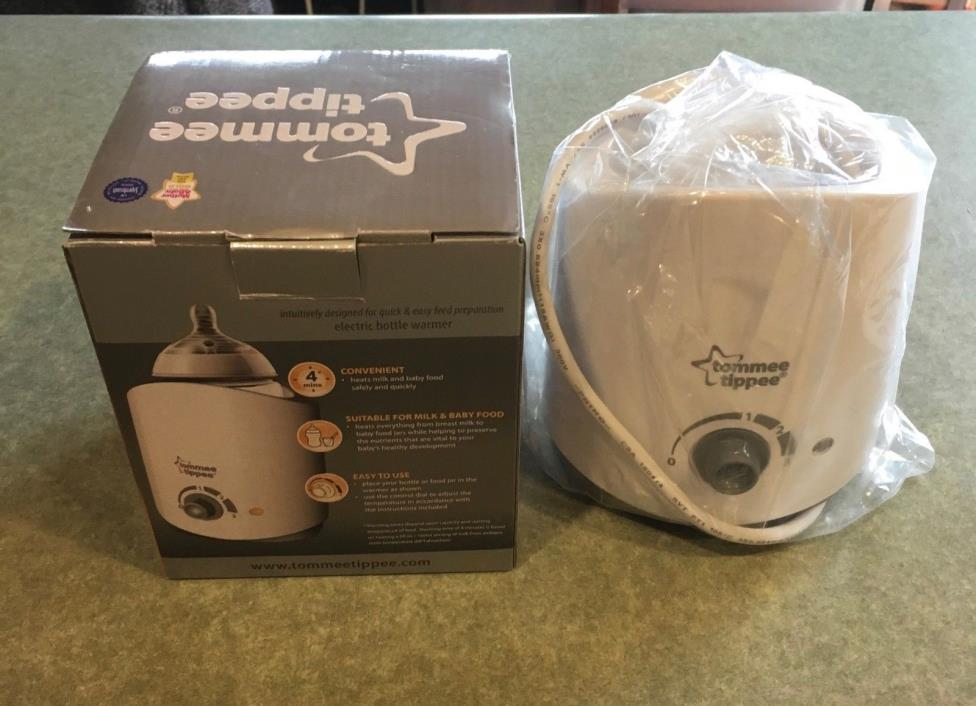 Tommee Tippee Closer to Nature Electric Baby Bottle and Food Warmer - New In Box