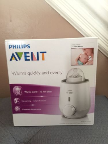 PHILIPS AVENT ELECTRIC FAST BOTTLE WARMER EVENLY HEATS BABY FOOD DEFROST SETTING