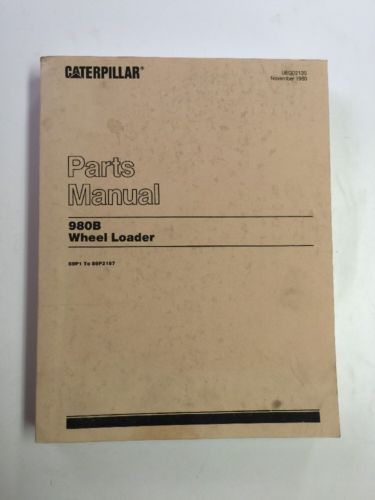 Caterpillar 980B Wheel Loader Parts Manual