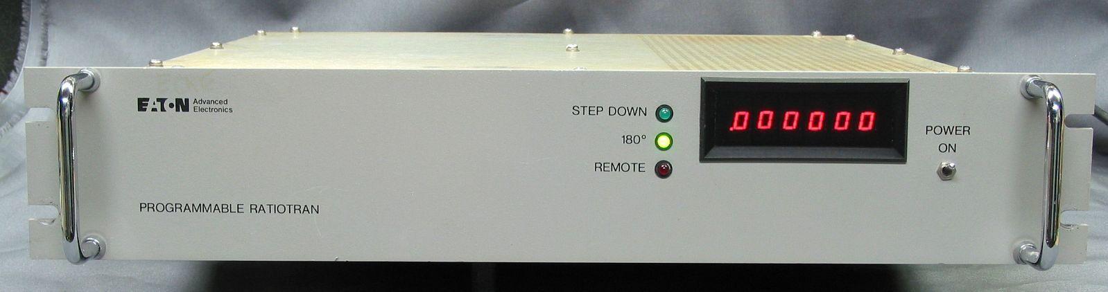 Eaton (Tegam) PRT-10C Programmable Ratio Transformer GPIB RatioTran