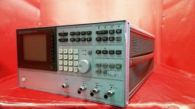 HP - Agilent - Keysight 3577A Vector Network analyzer