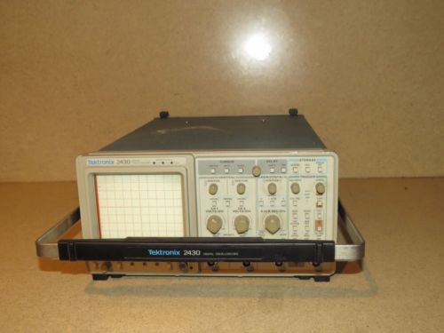 TEKTRONIX 2430 DIGITAL OSCILLOSCOPE (TO2)
