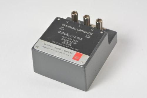 General Radio 1409-G Standard Capacitor 0.002 +- 0.05%