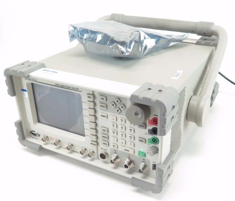 Aeroflex 3920 IFR Digital Radio Test Set Loaded w/ Options - Please See Details