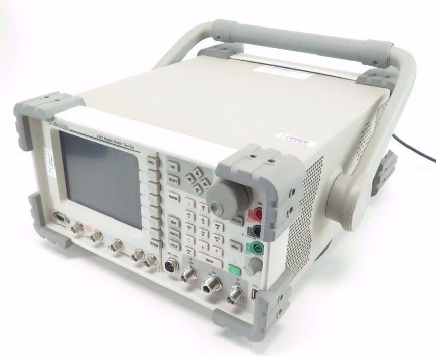 Aeroflex 3920 IFR Digital Radio Test Set w/ Opts 050 056 058 061 200 201 202 216