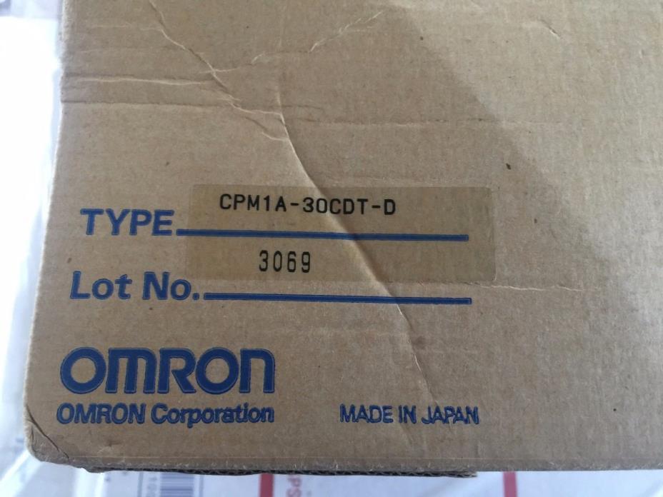 OMRON OUTPUT MODULE 30POINT NPN CPM1A30CDTD