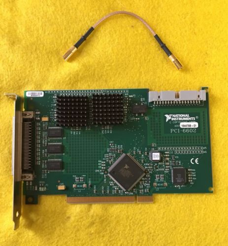 NATIONAL INSTRUMENTS  PCI-6602
