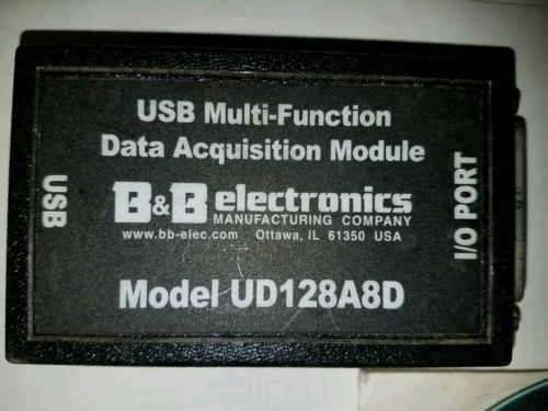 B&B Electronics UD128A8D USB Data Acquisition Unit