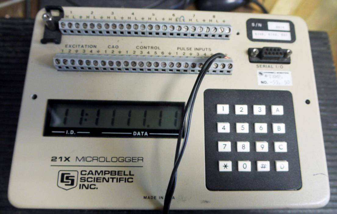 Extended Temperature Campbell Scientific CR21X Micrologger Data Logger