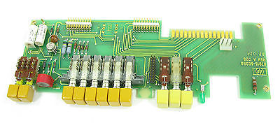 Hewlett Packard 7015B X-Y Plotter REPAIR PART - PCB 07015-60350 w/ Switches