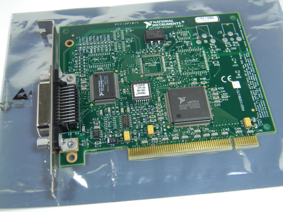 National Instruments NI PCI-GPIB/+ IEEE 488.2 PCI Interface Card 183617C-01