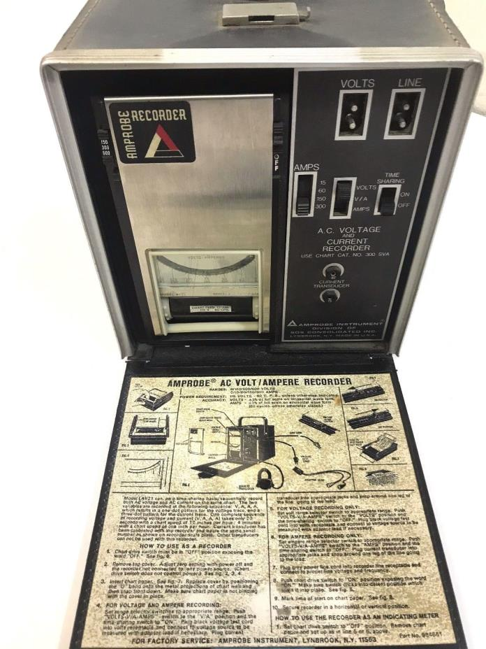 Amprobe 984651 Recorder