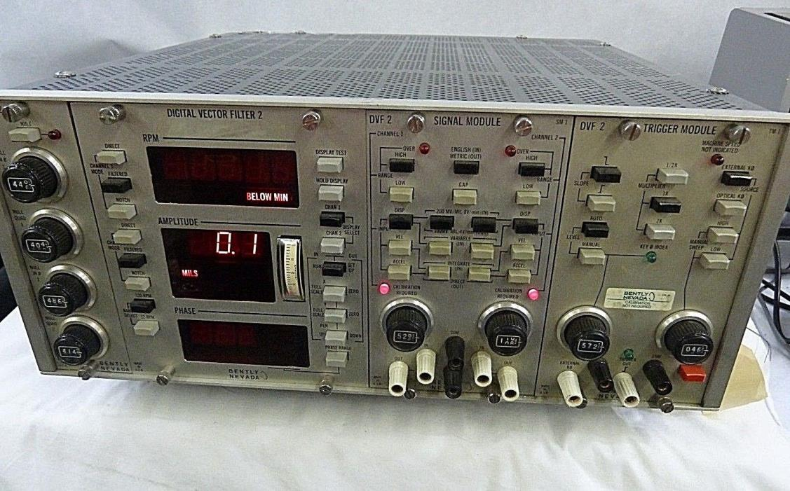 Bently Nevada  Digital Vector 2 Filter  Not Tested - POWERS ON !