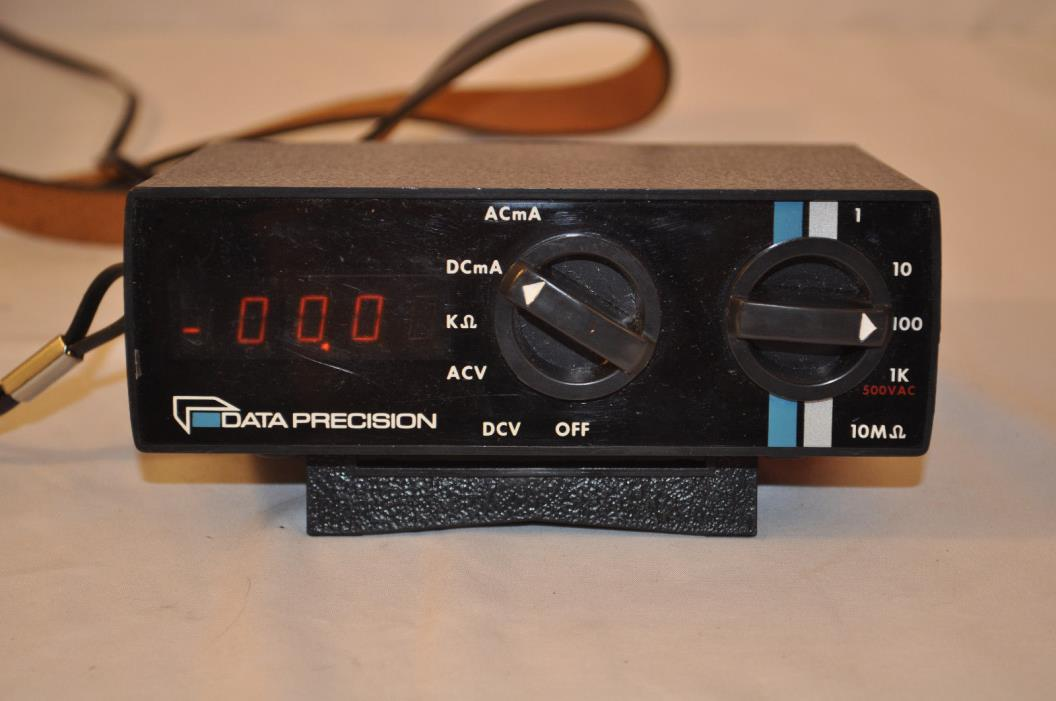 Data Precision 245 multi-meter Western Electric COMPLETE TESTED!