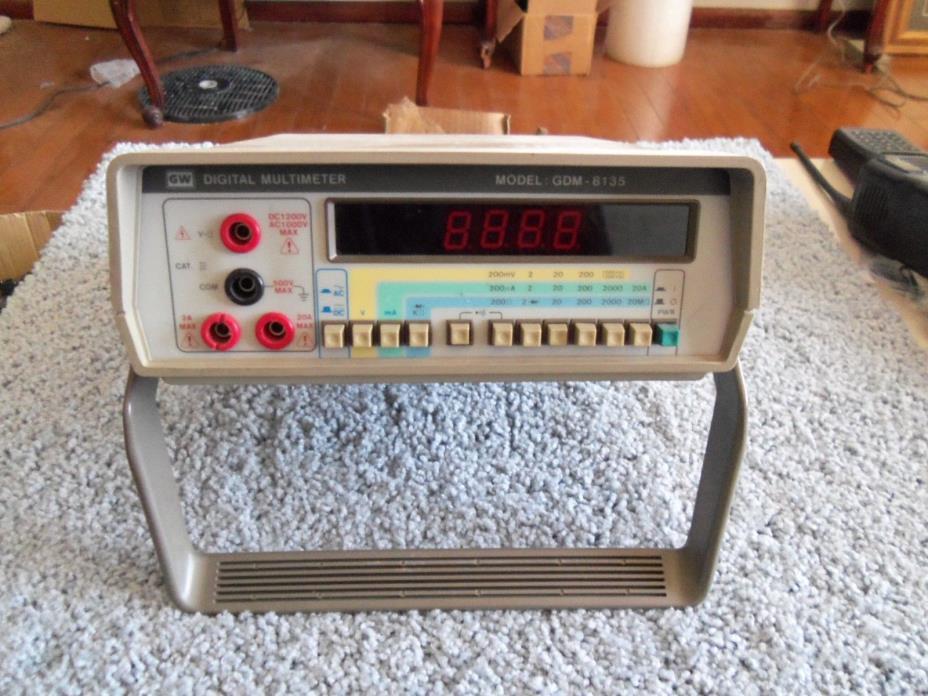 Gdm8135 digital multimeter