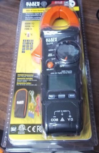 Klein Tools CL210 Clamp Multimeter 400A Auto Ranging Digital  Free Shipping