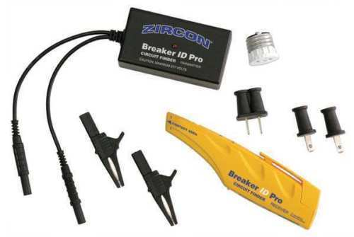 ZIRCON Electrical Breaker ID Pro Circuit Breaker Finder Kit