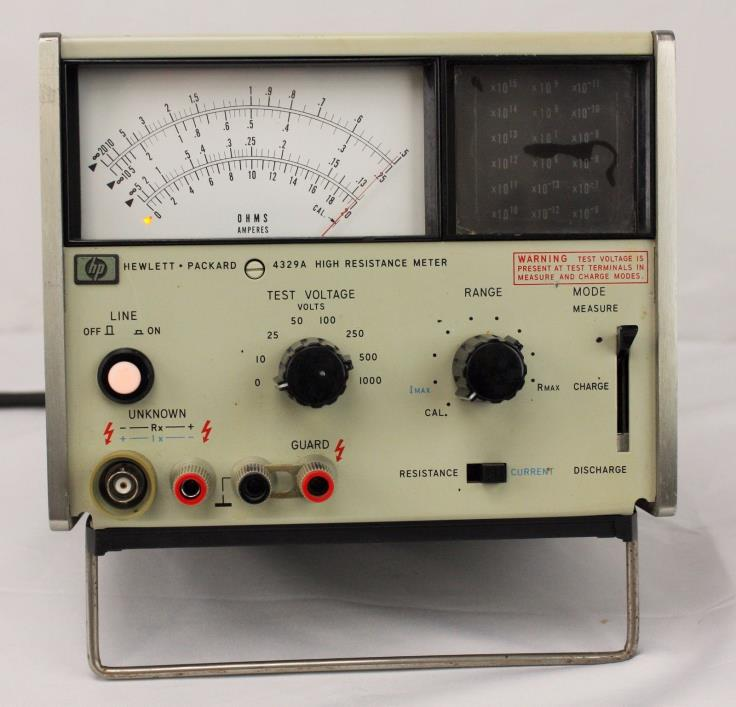 HP 4329A High Resistance Meter w/ Probe