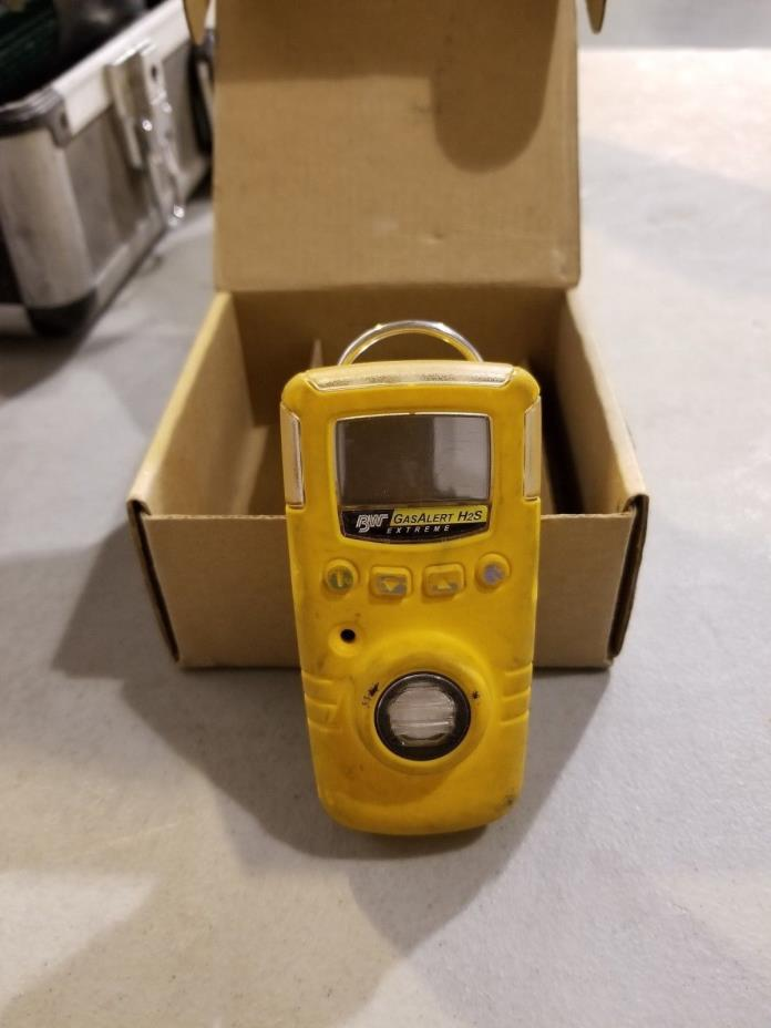 BW Technologies GasAlert Extreme H2S monitor