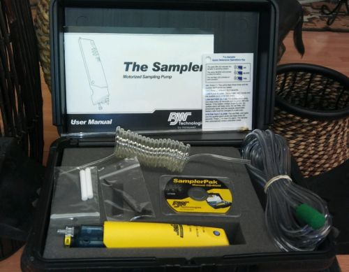 BW TECHNOLOGIES GA-SPAK 112043-L3 MOTORIZED THE SAMPLER KIT PAK