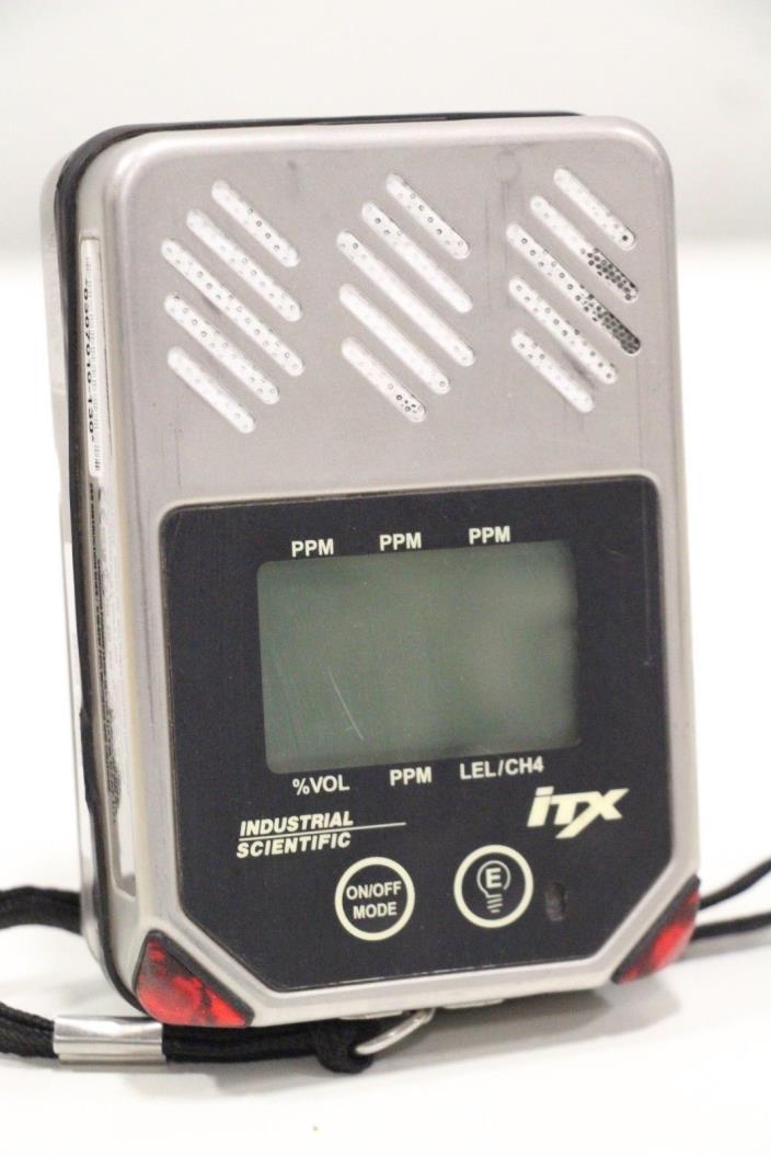 Industrial Scientific ITX Multi Gas Digital Gas Monitor 1810-4307 + Priority SH