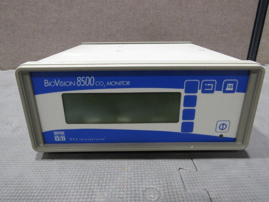 Genuine YSI Inc. BioVision 8500 CO2 Process Monitor Power Tested