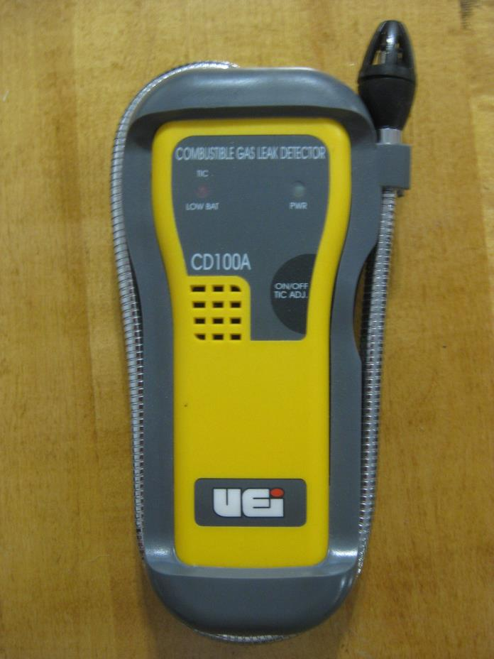 UEI  CD100A Combustible Gas Leak Detector good used condition