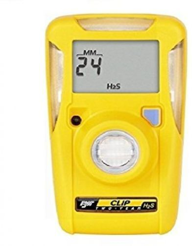 BW TECHNOLOGIES H2S CLIP SINGLE GAS MONITOR BWC2-H HYDROGEN SULFIDE NEW 2018!