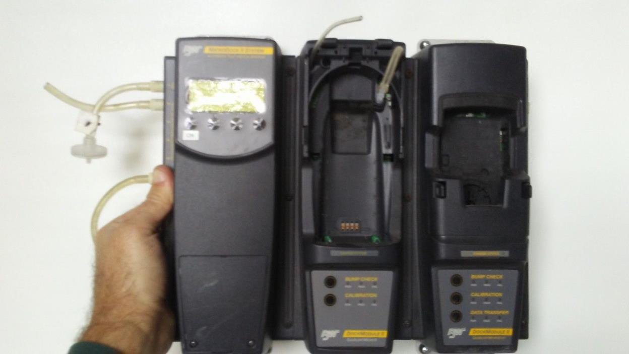 BW Microdock II Gas Monitor Calibration System and GAMicro5 and Microclip