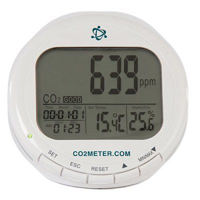 CO2Meter AZ-0004 Indoor Air Quality CO2 Meter Temperature and Relative Humidity