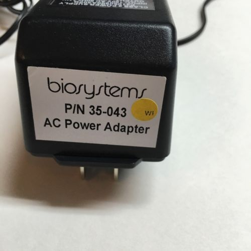 Bio systems AC Power Adapter P/N 35-043