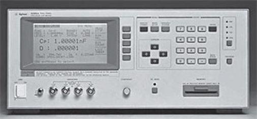 Agilent / Keysight 4285A Precision LCR Meter - Stock Photo