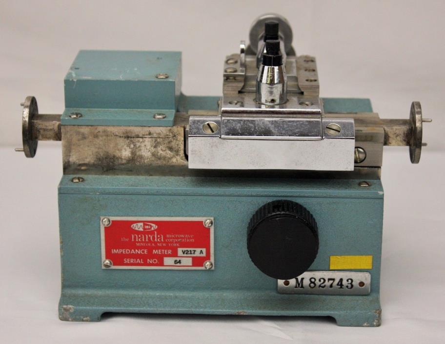 Narda V217A Waveguide Impedance Meter