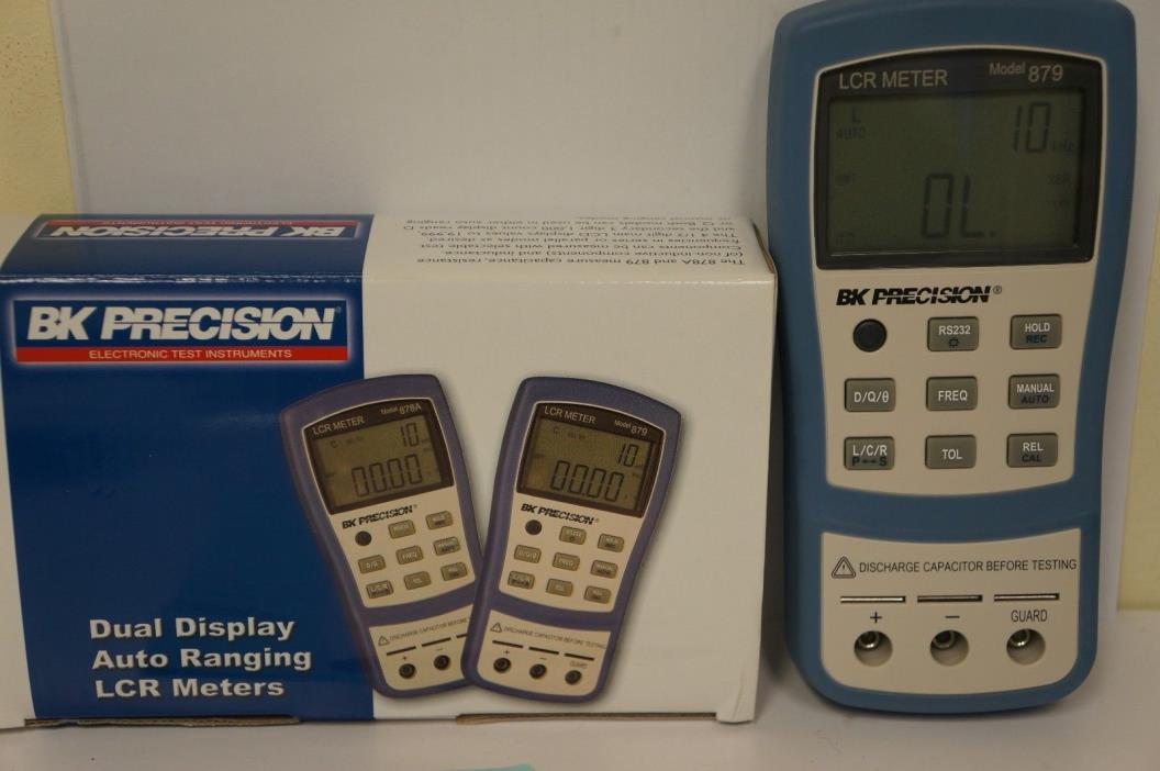 BK Precision 879 Dual-Display auto Ranging LCR meter
